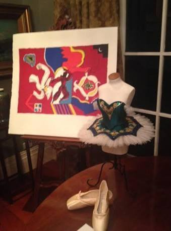 One of our Mini Dressmaker forms for Royal NZ Ballet they make mini tutus and auction off at a fund raiser they almost raiser $17,000 on the night.