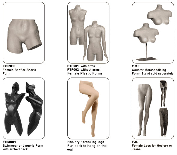 Female Body Forms