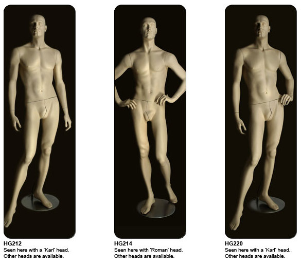 Hemingway Mannequins