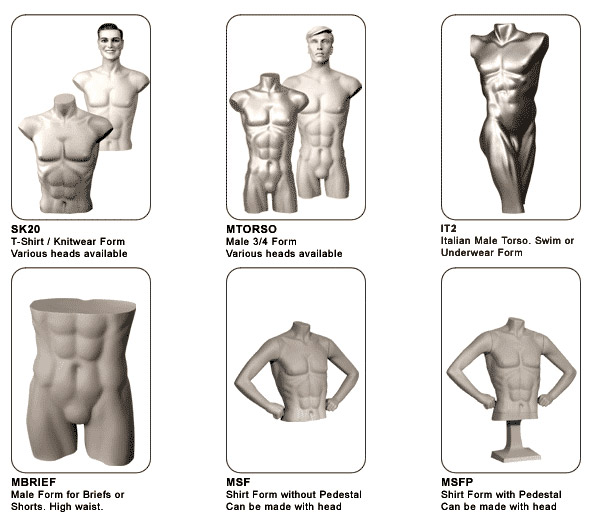 Male Body Forms