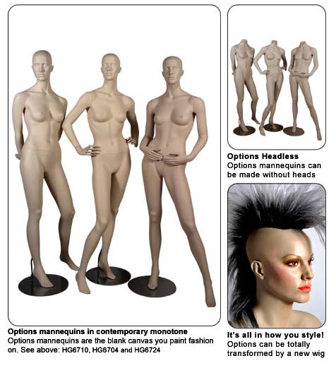 Options Mannequins