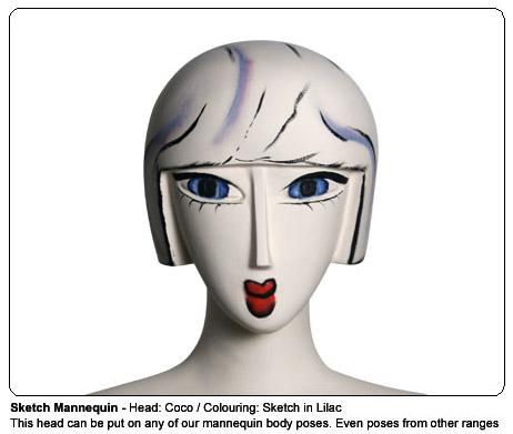 Sketch Mannequins